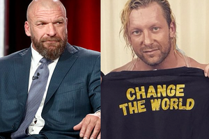 Triple H Kenny Omega