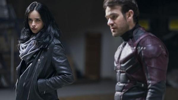 Jessica Jones Daredevil Defenders