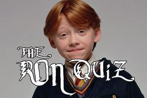 Harry Potter: The ULTIMATE Ron Weasley Quiz  User quiz