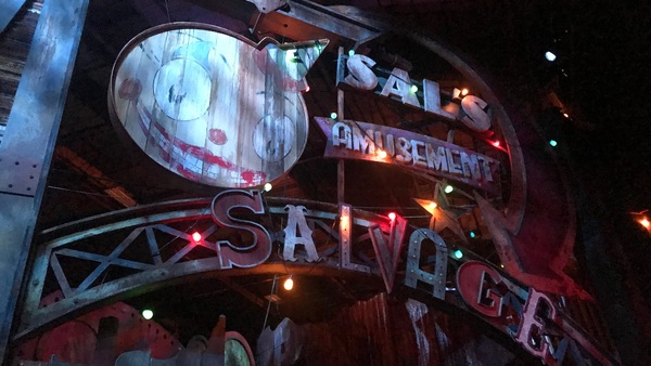 Carnival Graveyard Halloween Horror HHN Universal Orlando