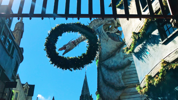Universal Orlando Harry Potter Diagon Alley Christmas