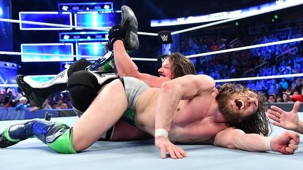 AJ Styles Daniel Bryan
