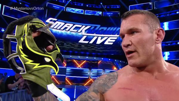 Randy Orton Rey Mysterio Mask