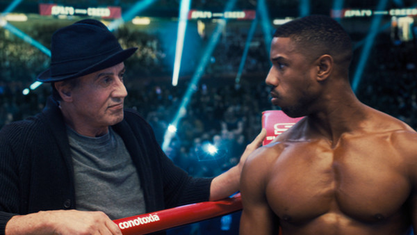 Creed 2 Sylvester Stallone Michael B Jordan