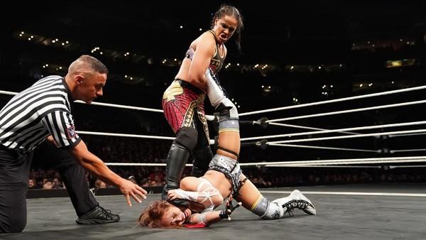 NXT TakeOver WarGames Shayna Baszler Kairi Sane 2018