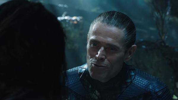 Aquaman Nuidis Vulko Willem Dafoe