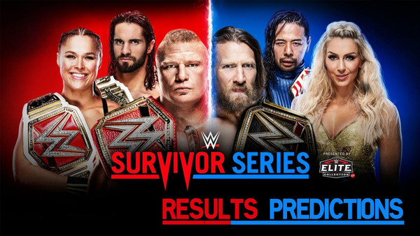8 Wwe Survivor Series Results Predictions