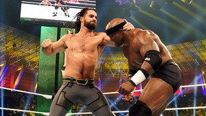 WWE Crown Jewel Lashley Seth Rollins