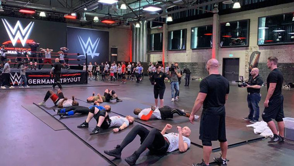 WWE Germany Tryout