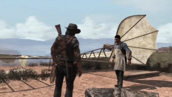 Red Dead Redemption Charles Kinnear