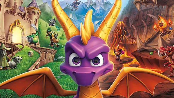 Spyro Reignited Cover