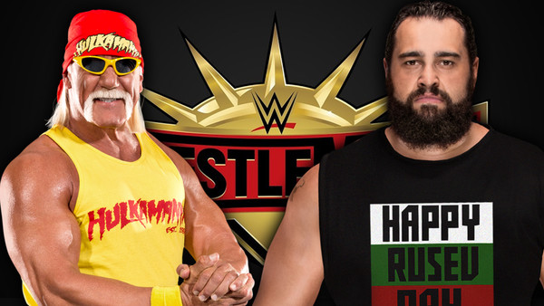 Wrestlemania 35 Hulk Hogan Rusev
