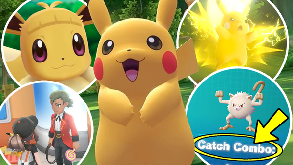Pokémon Lets Go Pikachueevee 11 Tips Tricks Hidden Features