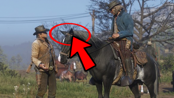 Red Dead Redemption 2 Horse Ears