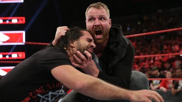 Dean Ambrose Seth Rollins