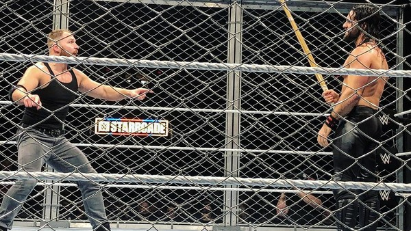 Dean Ambrose Seth Rollins Starrcade