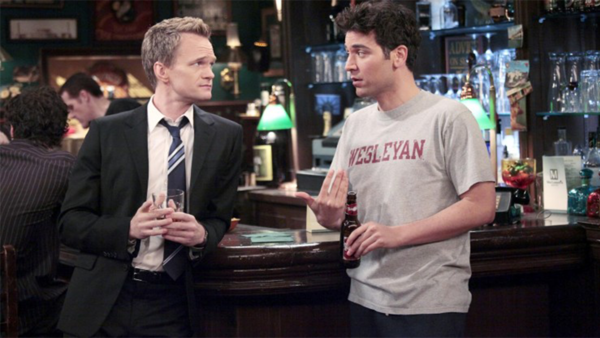 Image result for ted barney how i met your mother