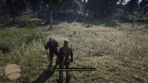Red Dead Redemption 2 Blind Prophet