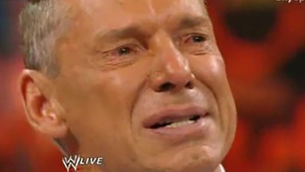 Vince Mcmahon Crying