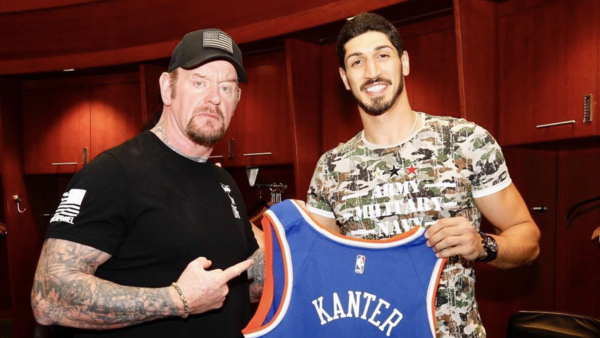 The Undertaker Enes Kanter