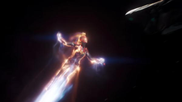 Captain Marvel Space