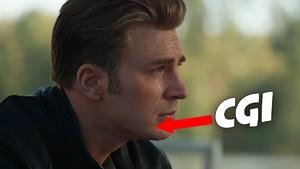 avengers endgame trailer captain america steve rogers cgi beard