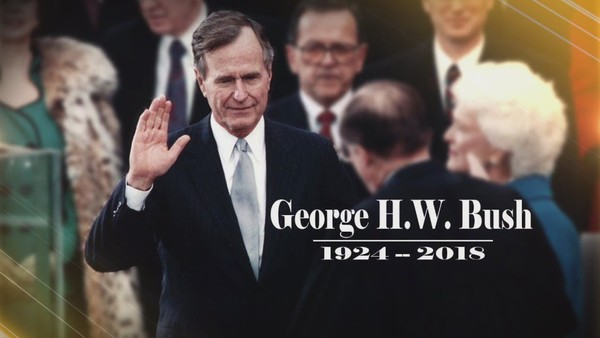 WWE George Bush tribute