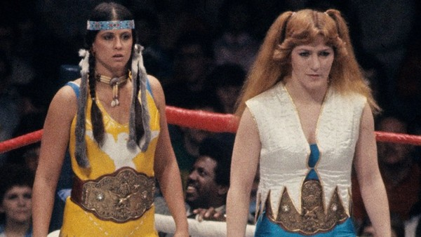 WWF Womens Tag Team Champions Velvet Mcintyre Princess Victoria