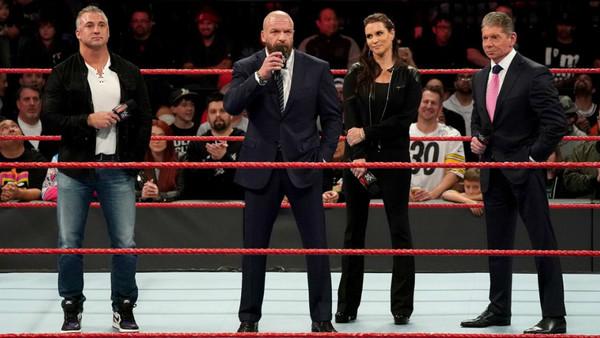 Vince Shane Stephanie McMahon Triple H