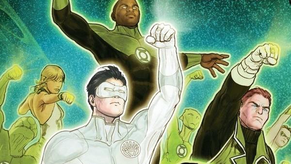 Hal Jordan Green Lantern Corps Kyle Rayner Guy Gardner John Stewart