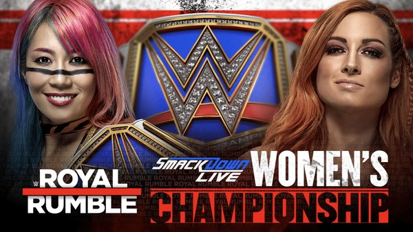 Asuka Becky Lynch Royal Rumble 2019