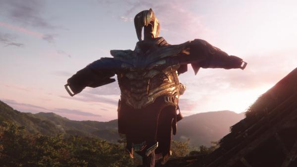 Avengers Endgame Thanos Armour