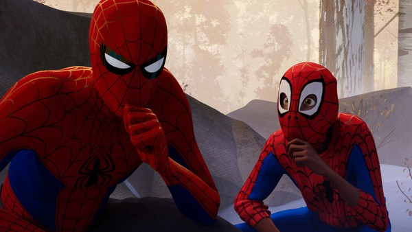 (Spider-Man: Into The Spider-Verse) Miles And Peter