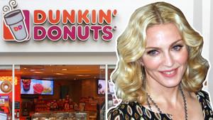 Madonna Dunkin Donits