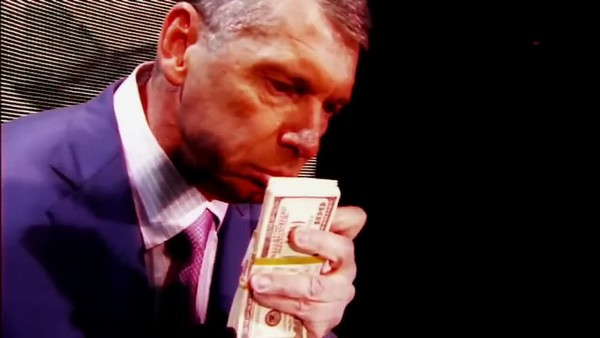 Vince McMahon smells some money
