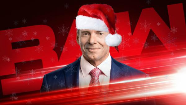 Vince McMahon Santa Snow