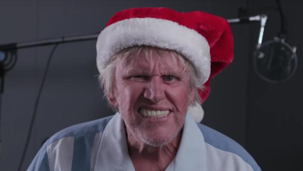 Gary Busey Santa