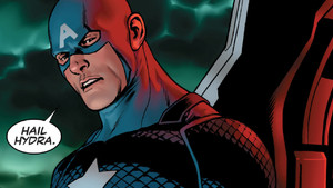 Captain America Hail Hydra Secret Empire