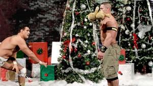 John Cena Alberto del Rio Christmas Eve