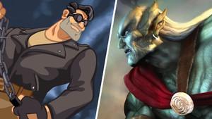 Video Game Antiheroes Kain Ben Throttle