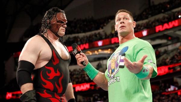 John Cena Kane Raw