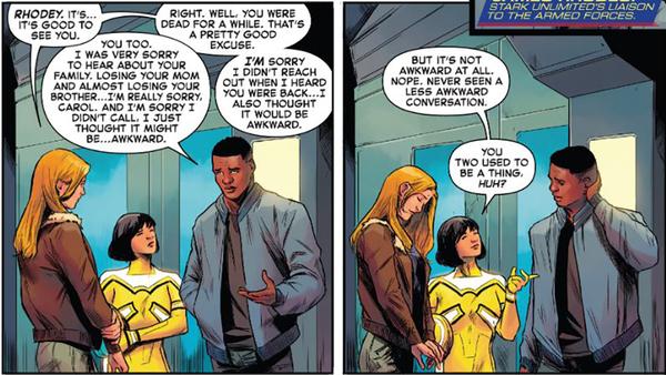 Captain Marvel 2019 Carol Rhodey