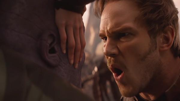 Avengers Infinity War Star Lord Thanos