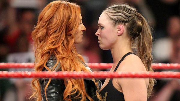 Becky Lynch, Ronda Rousey