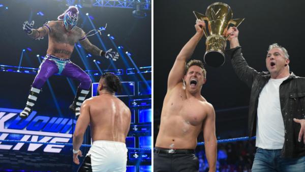 Rey Mysterio Shane McMahon The Miz