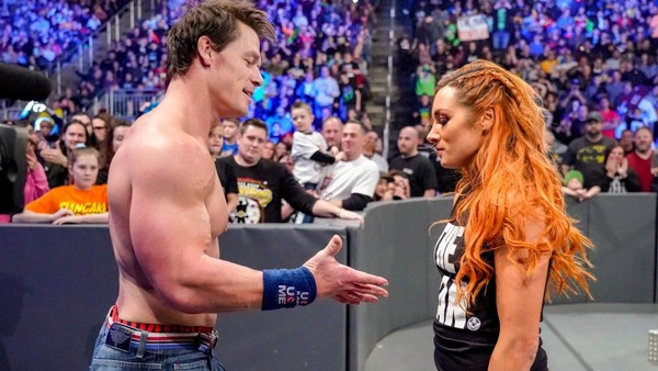John Cena Becky Lynch