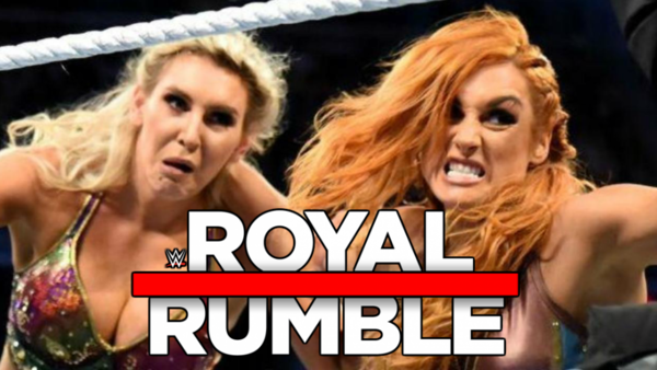 Charlotte Flair Becky Lynch Royal Rumble