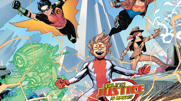 Young Justice 2019 #1 team