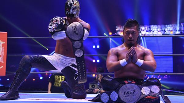 Risultati immagini per NJPW Wrestle Kingdom 13 Takagi and BUSHI