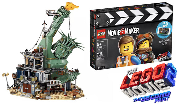 lego movie 2 new tie in lego sets revealed. Black Bedroom Furniture Sets. Home Design Ideas